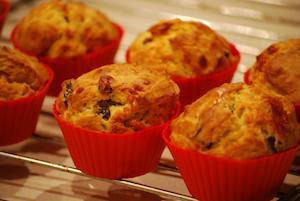 Cake salé vegan : la recette de base des muffins salés