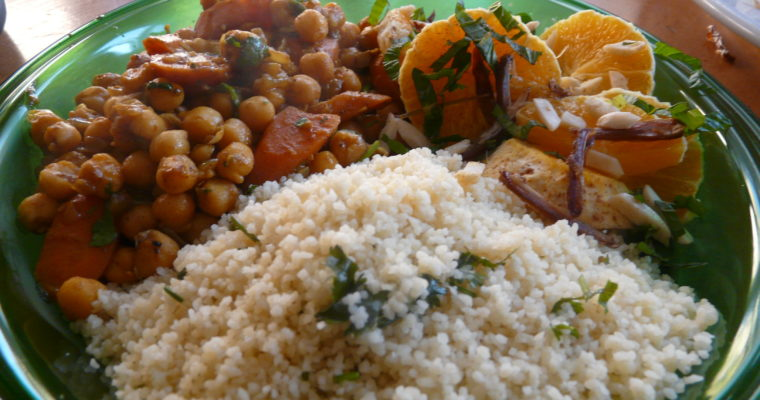 Couscous végétarien/végan: la recette