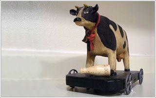 lait de vache santé