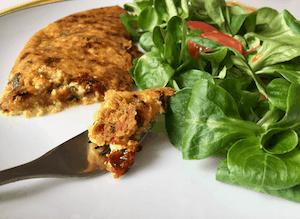 omelette sans oeuf