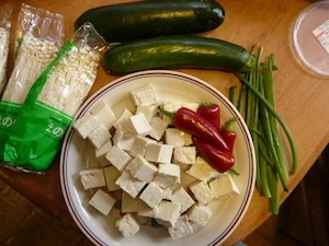 tofu composition